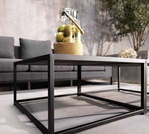 garden outdoor modern contemporary coffee tables in slate and stone ceramic