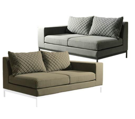 garden fabric sofa modular unit outdoor weatherproof