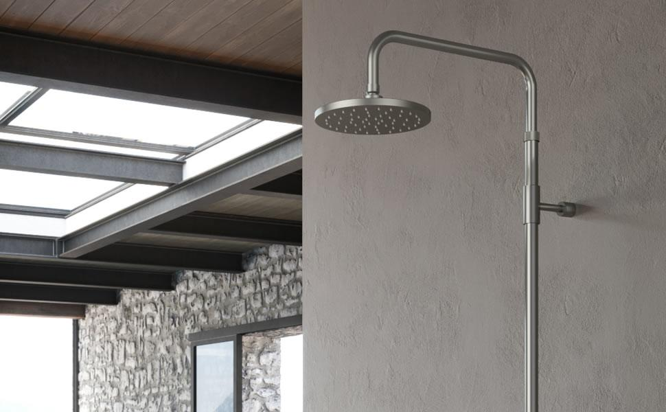 Outdoor Showers - Wall Mounted