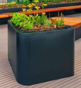 Fibre Glass Triangle Planter available in Gloss and Matt Finish