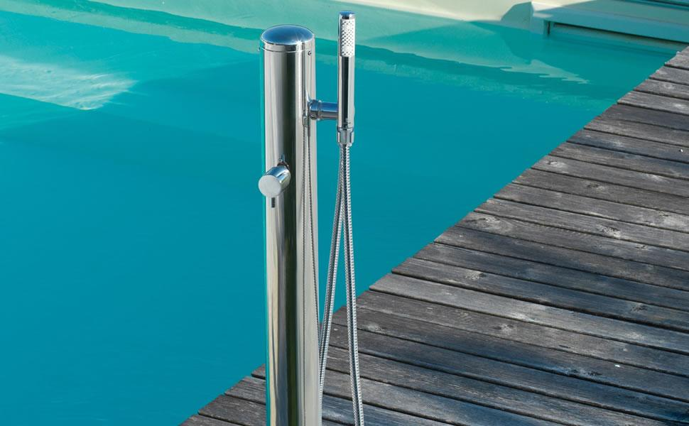 Outdoor Showers - Floor Mounted