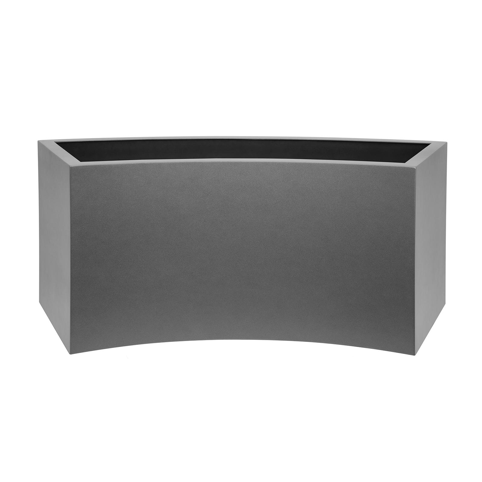curved_trough_planter_fibreglass_modern_garden_outdoor_luxury_high_quality_kent_uk