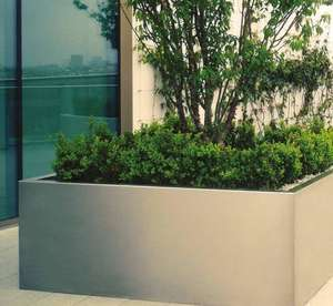 stainless_steel_garden_planter_trough_brushed_luxury_uk_kent