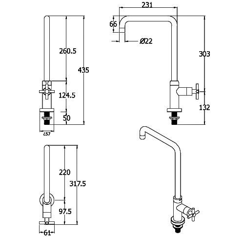 stainless_steel_outdoor_kitchen_tap_single_feed