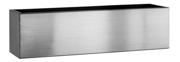 brushed_stainless_steel_trough_planter_garden_outdoor_kent_uk