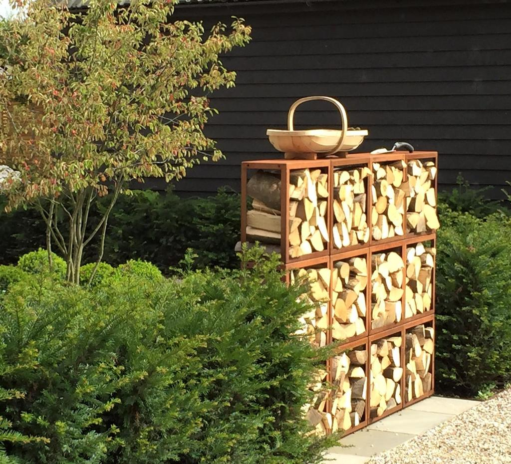 Outdoor Log Storage