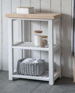 Compact Beech Storage Unit