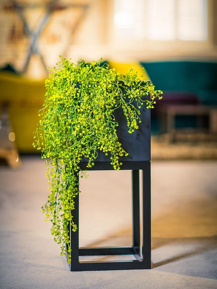 raised_fibreglass_cubed_planter_garden_outdoor_metal_stand_indoor_modern_contemporary