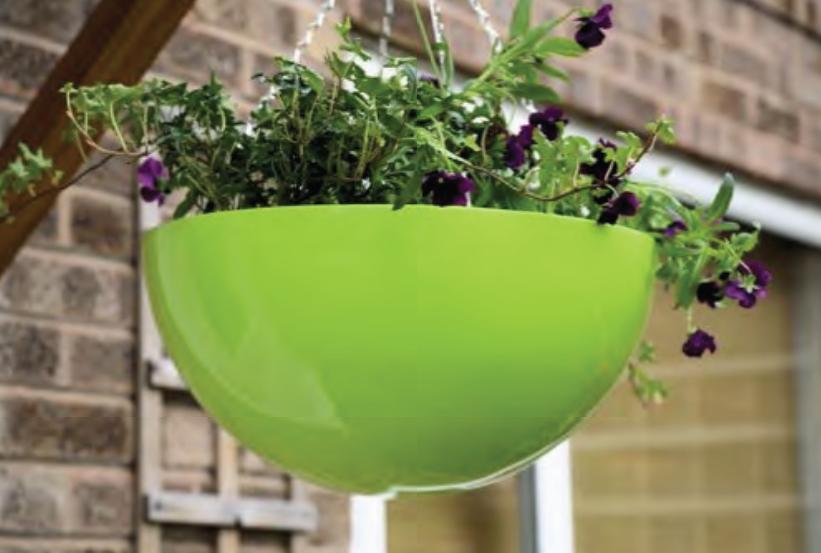 wall_mounted_round_fibreglass_garden_planter_bespoke_uk_made_kent_uk