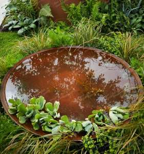 corten_steel_garden_water_bowl_pond_luxury_high_quality_outdoor_kent_uk