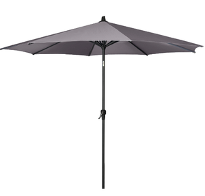 2.5m Round parasol available in three colours