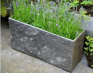 slate planter natural stone garden trough modern uk kent