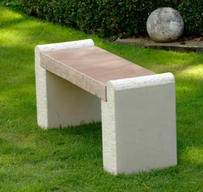 stone_bench_natural_amber_sandstone_garden_outdoor_modern_uk_kent