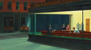 We are all Edward Hopper paintings now...