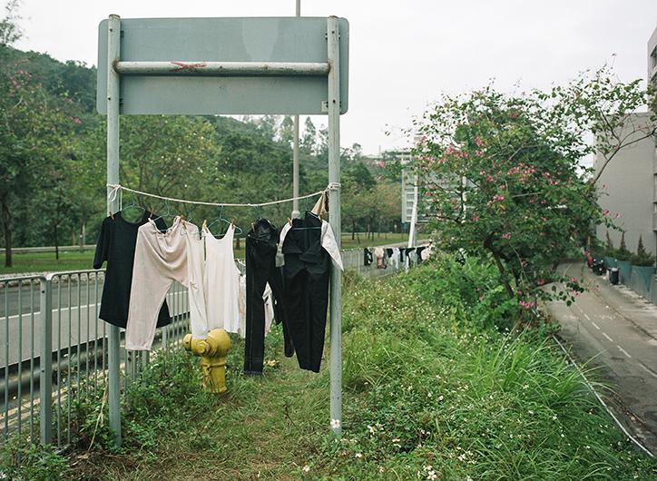Jimmi Ho's photographs of laundry drying in Hong Kong show the creativity of the city's residents