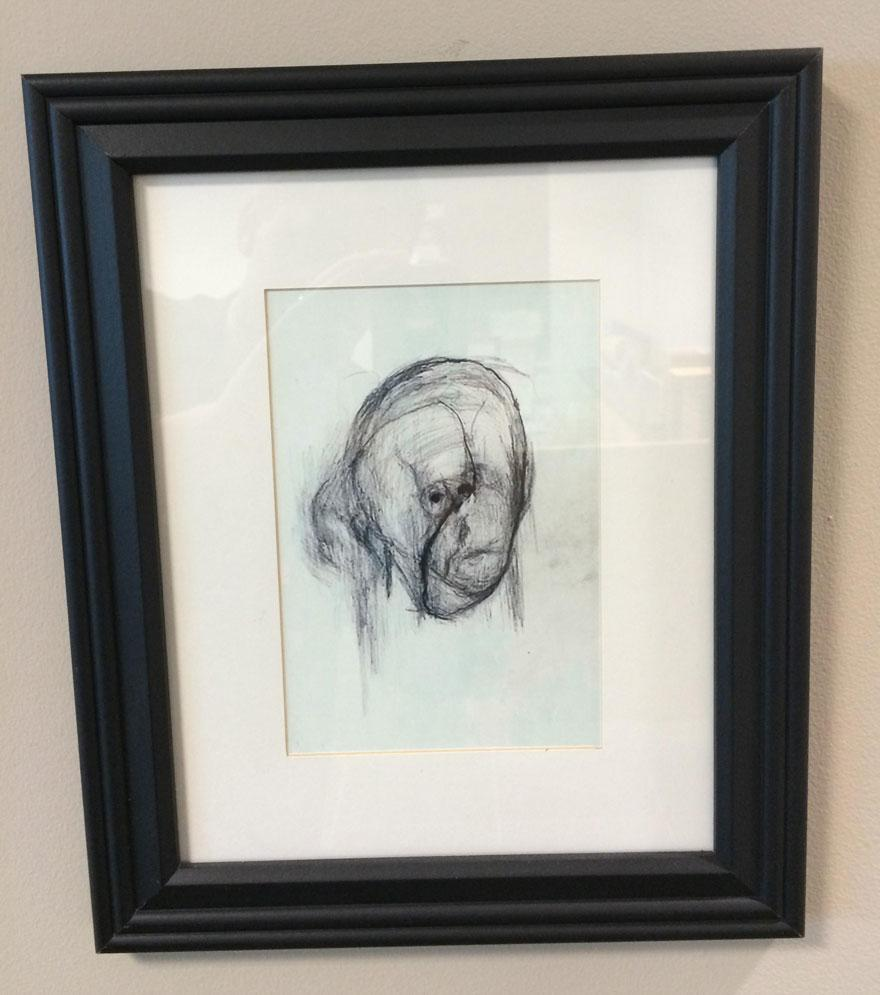 Artist With Alzheimer's Drew Self Portraits For 5 Years