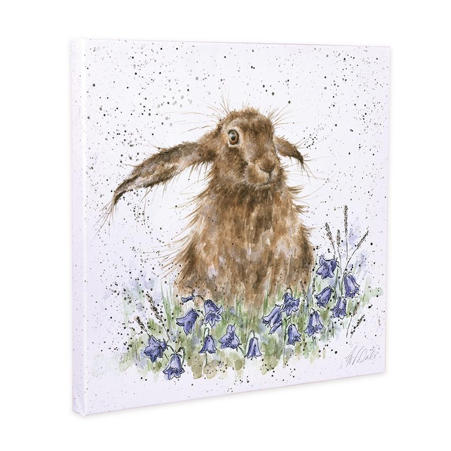 meadow hare canvas wrendale