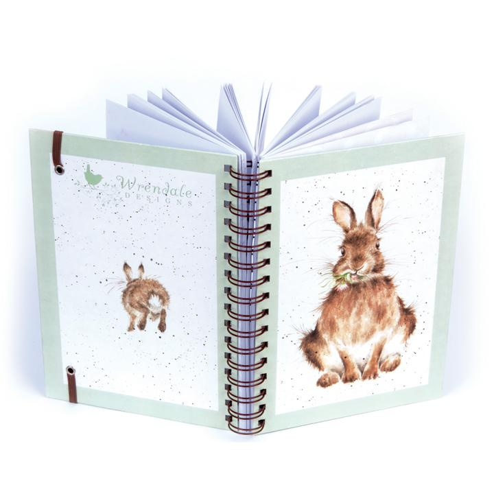 rabbit daisy notebook wrendale