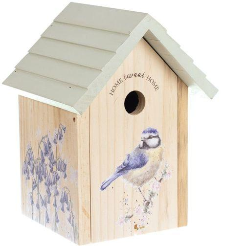 Wrendale Design Bird House Blue Tit Front