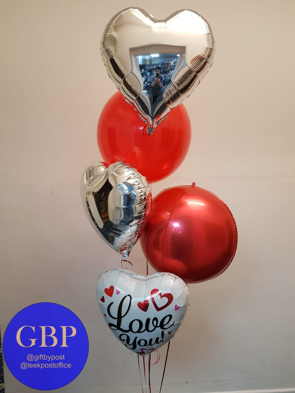 large balloon bouquet valentine's day
