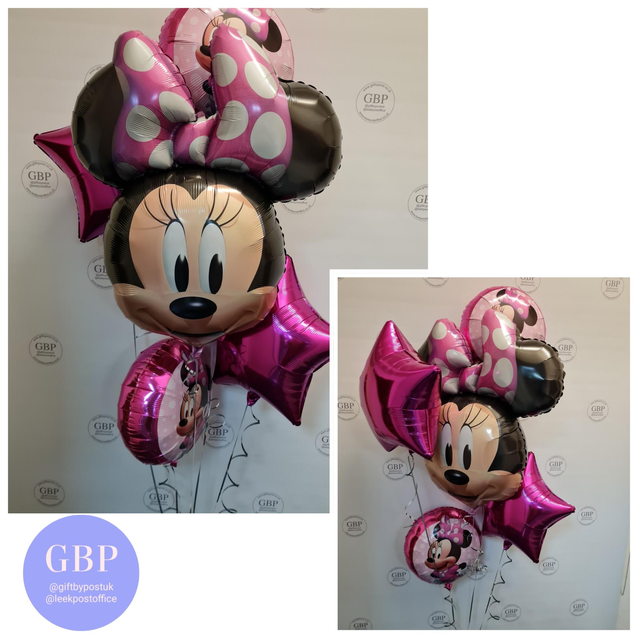 Large Balloon Bouquet Minnie Mouse