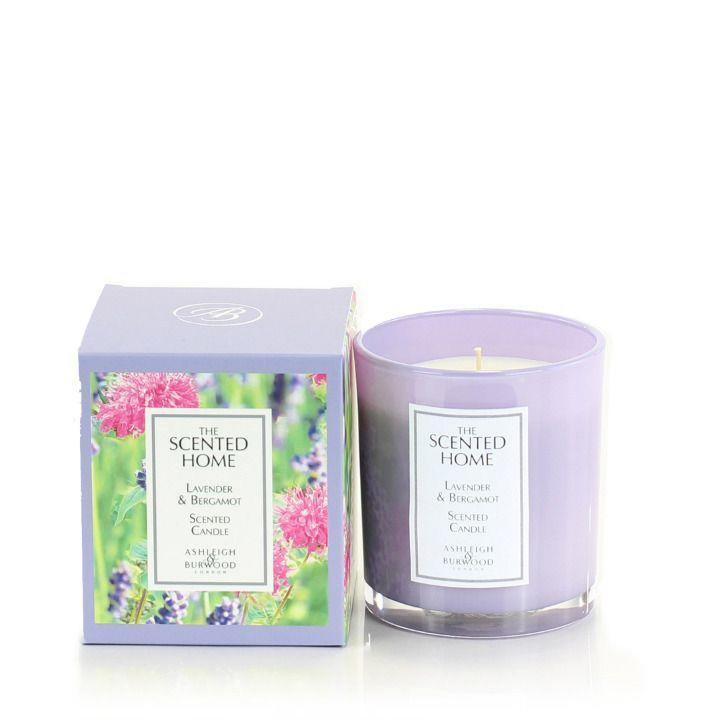 lavender and bergamot candle asheigh and burwood