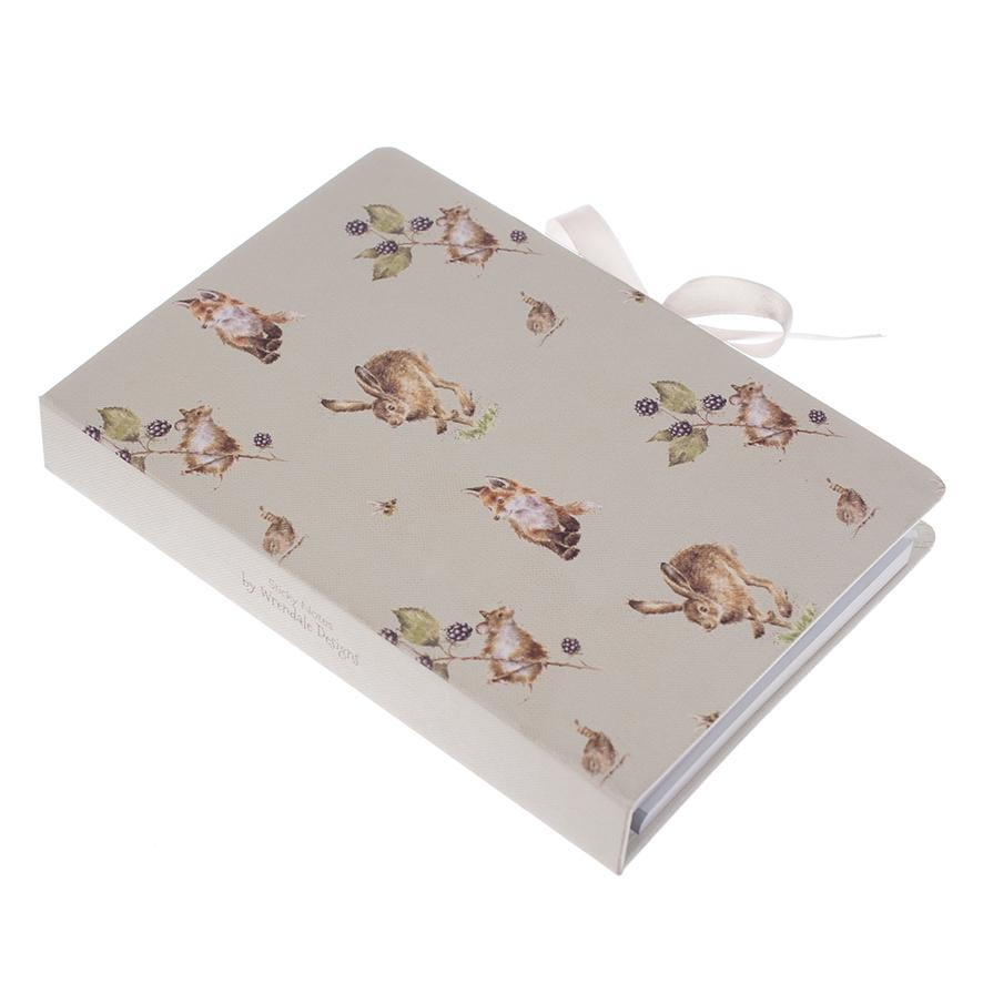 WRENDALE STICKY NOTES BOOK - COUNTRY SIDE