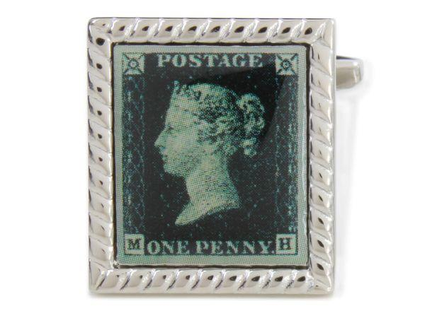 Penny Black stamp Cufflinks