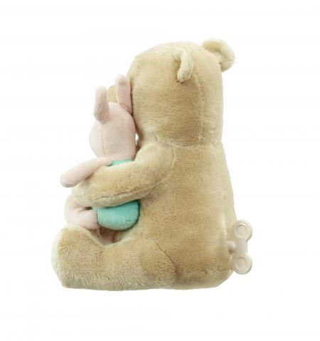 Disney Winnie The Pooh Classic Wind Up Soft Toy Baby Gift Back
