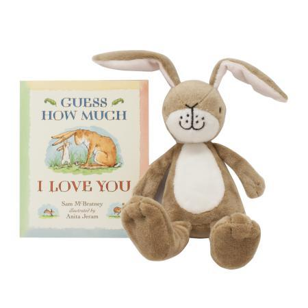 Guess how much i love you rattle and book gift set