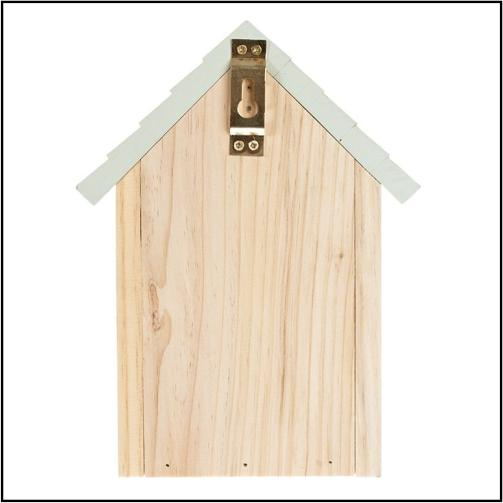 Wrendale Design Bird House Blue Tit Back