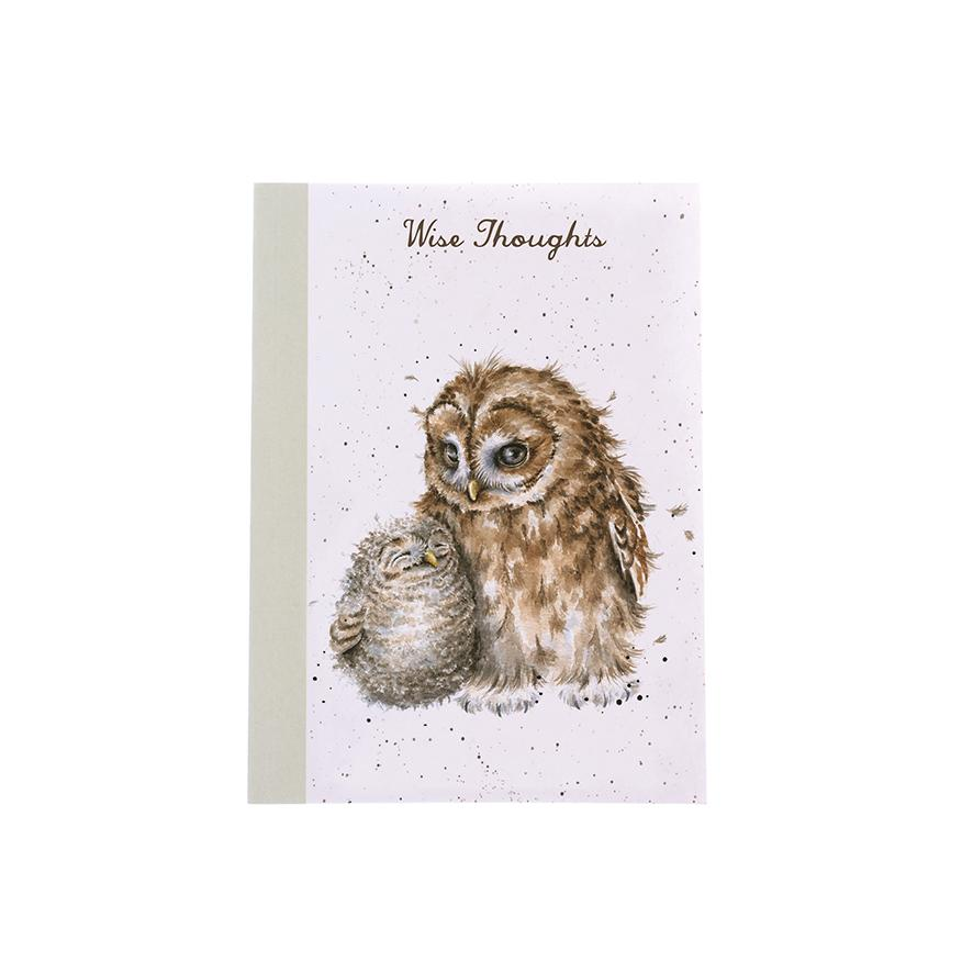 Wrendale A6 Notebook Owls