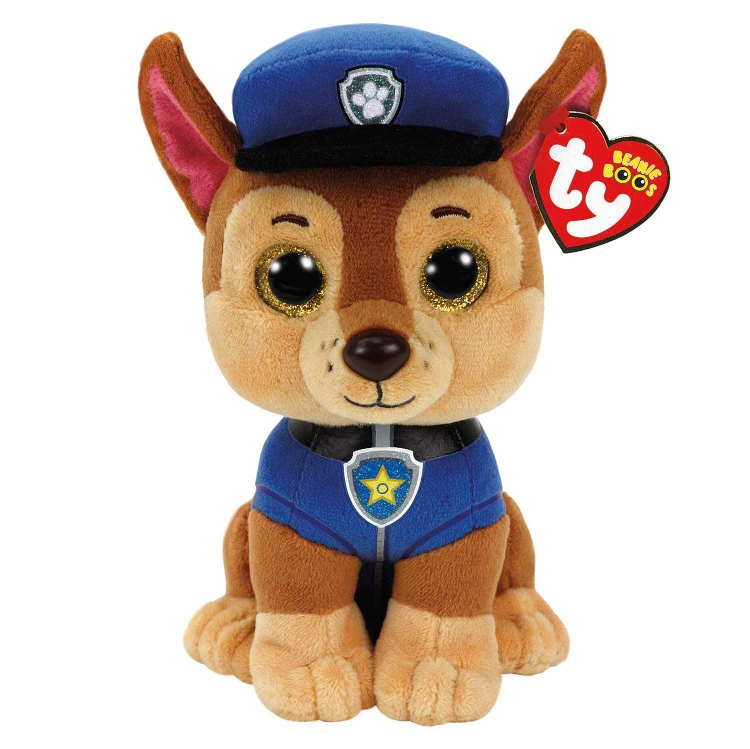 Nickelodeon Paw Patrol Chase TY soft toy