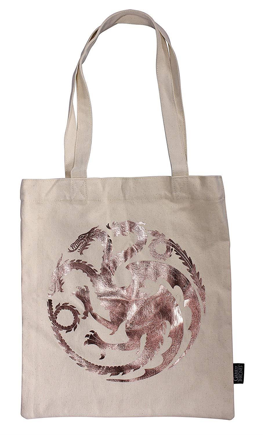 Game Of Thrones - Tote Canvas Bag Khaleesi back