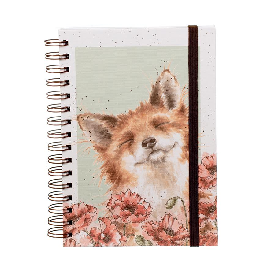 poppy field notebook wrendale