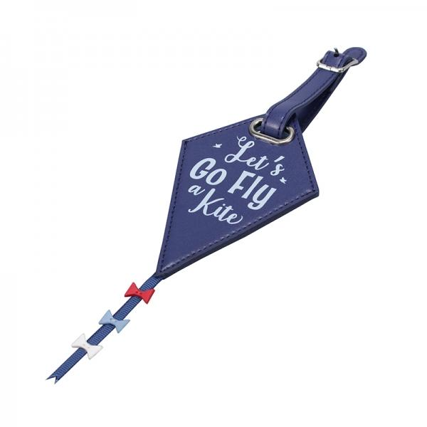 Disney Mary Poppins Luggage Tag - Let's Go Fly a Kite Front