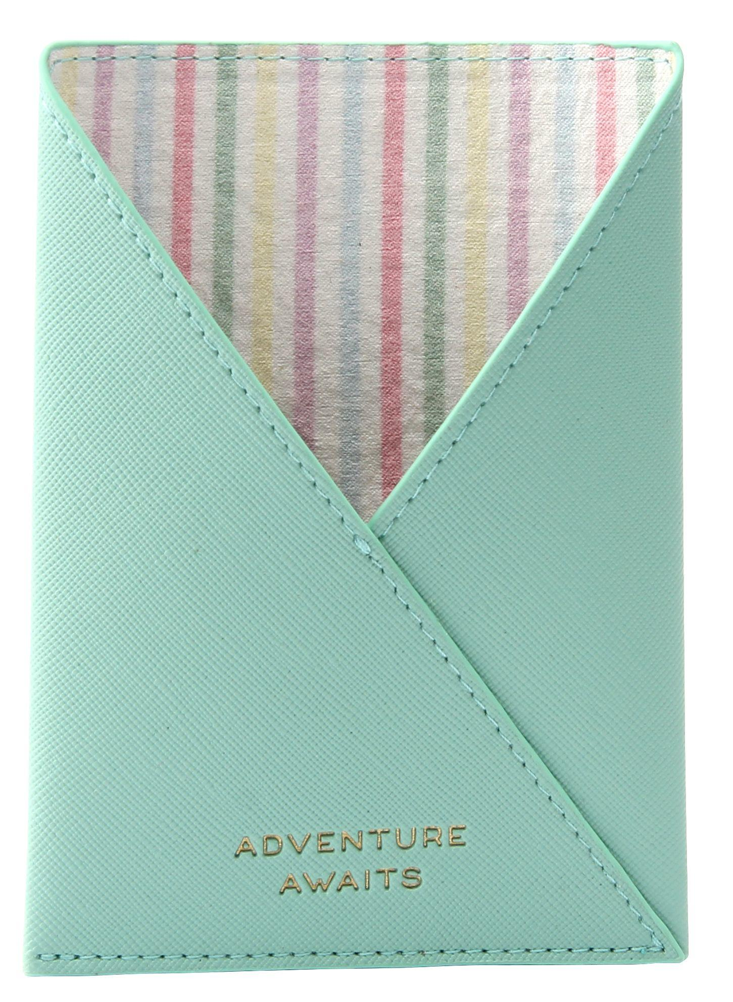 MINT PASSPORT HOLDER INSIDE
