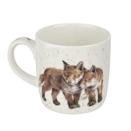 WRENDALE FOX MUG BACK