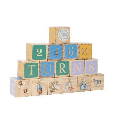 Beatrix Potter Peter Rabbit Building Blocks Gift Set front
