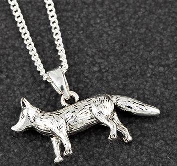 Equilibrium Fox Necklace