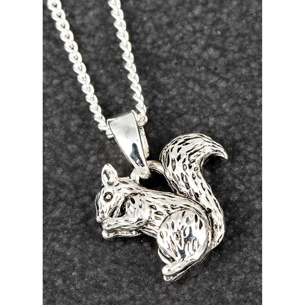 Equilibrium Squirrel Necklace