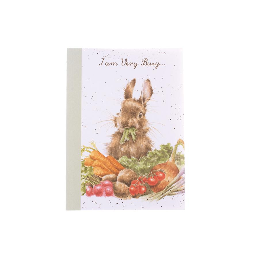 Wrendale A6 Notebook Bunny Rabbit