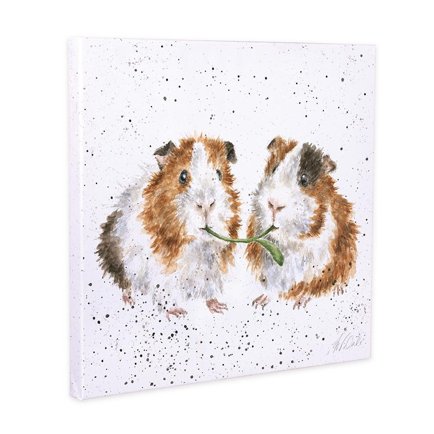 guinea pig canvas wrendale
