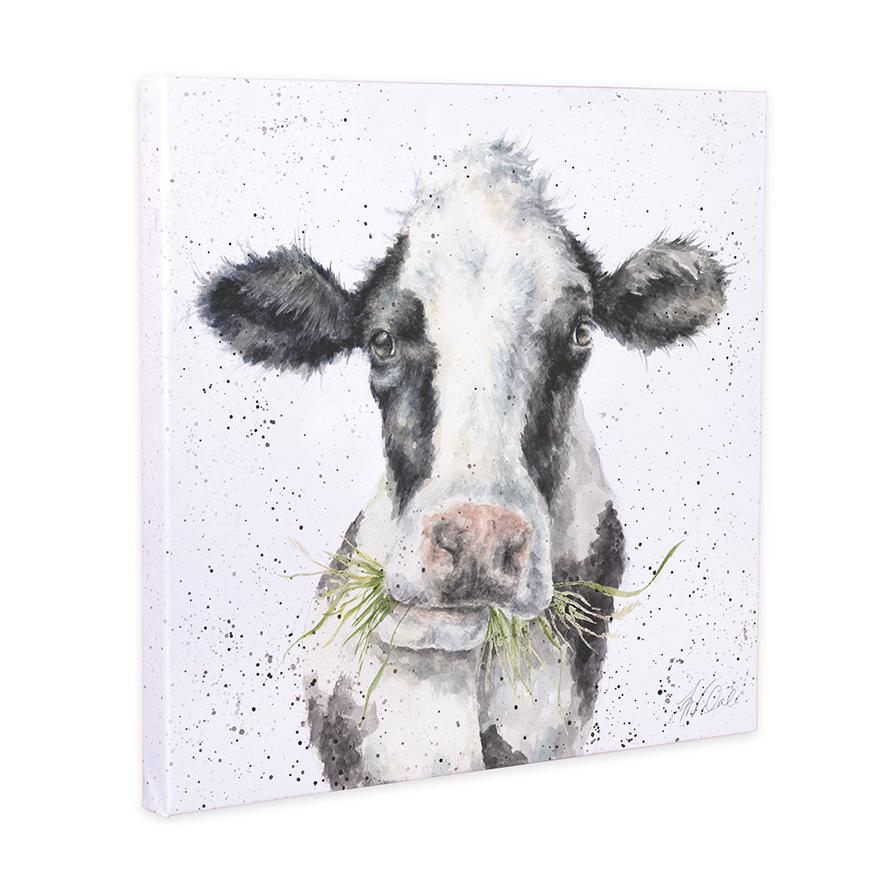 cow canvas wrendale
