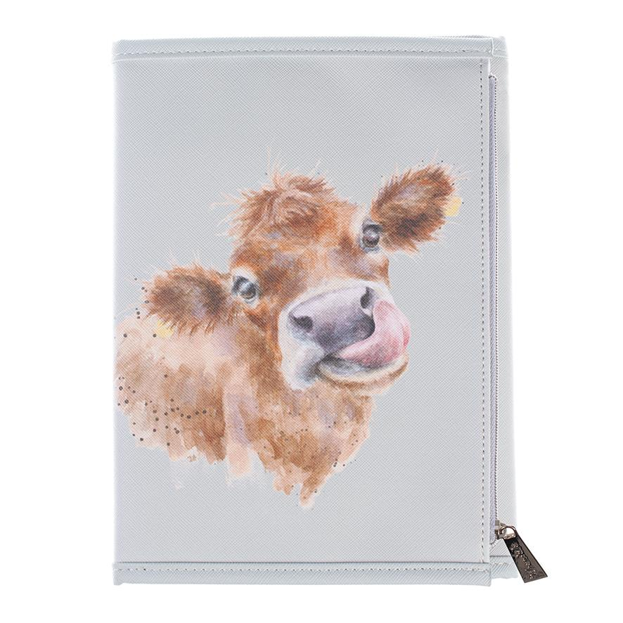 cow notebook wallet wrendale