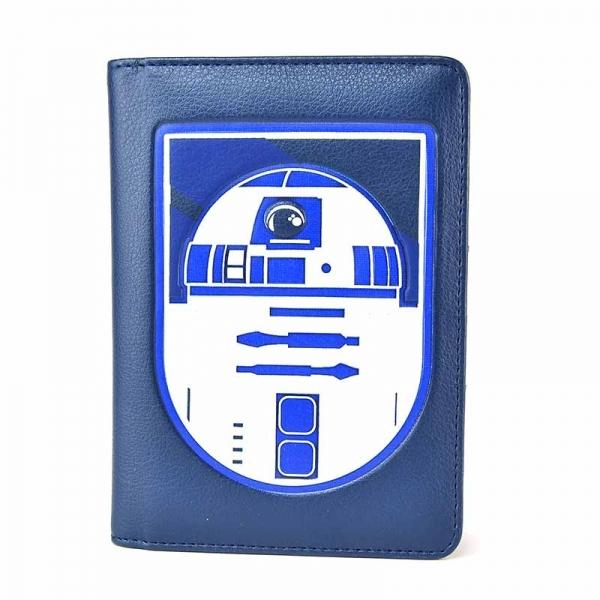 Star Wars Passport Wallet - R2D2 Front