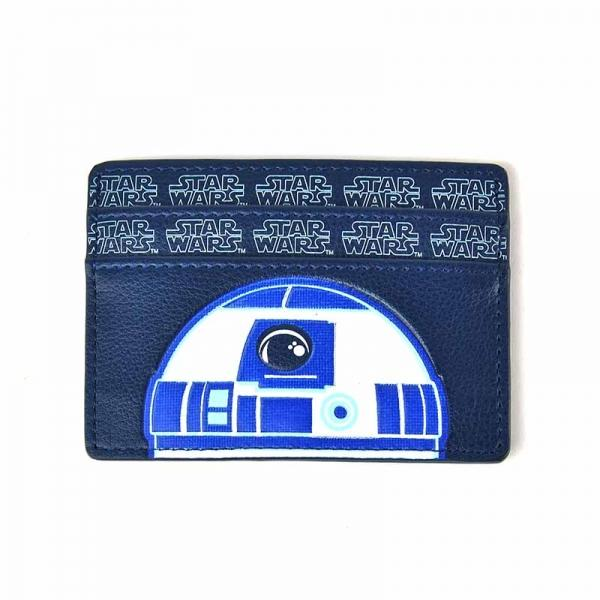 Star Wars Card Holder R2-D2 Badge Front