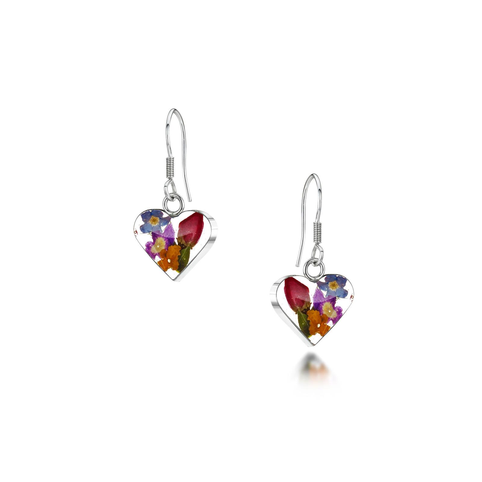 MIXED FLOWER BUTTERFLY EARRINGS