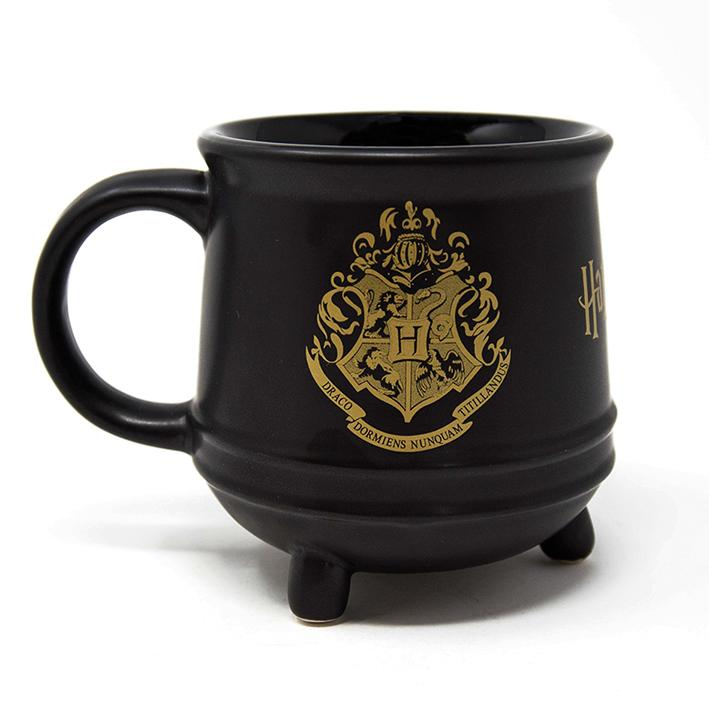 HARRY POTTER CAULDRON MUG BACK