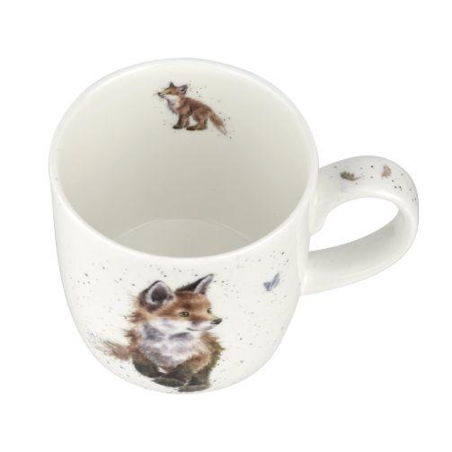 WRENDALE FOX MUG TOP